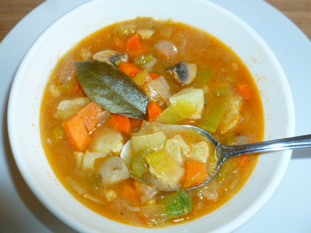 Seven Vegetables Soup with Semolina Ronit Penso