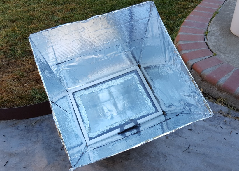 DIY Solar Stove (out of cardboard!)