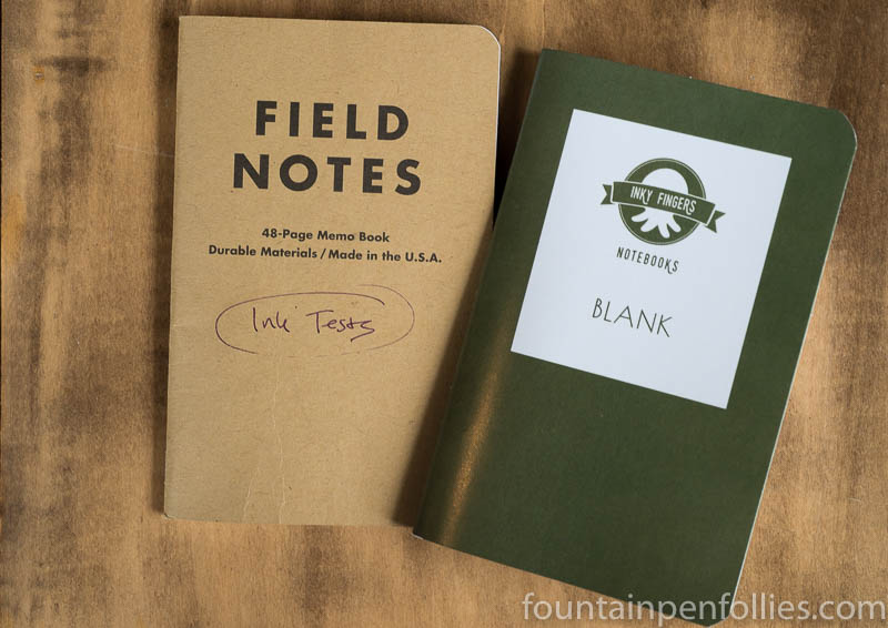 Field Notes and Inky Fingers notebooks