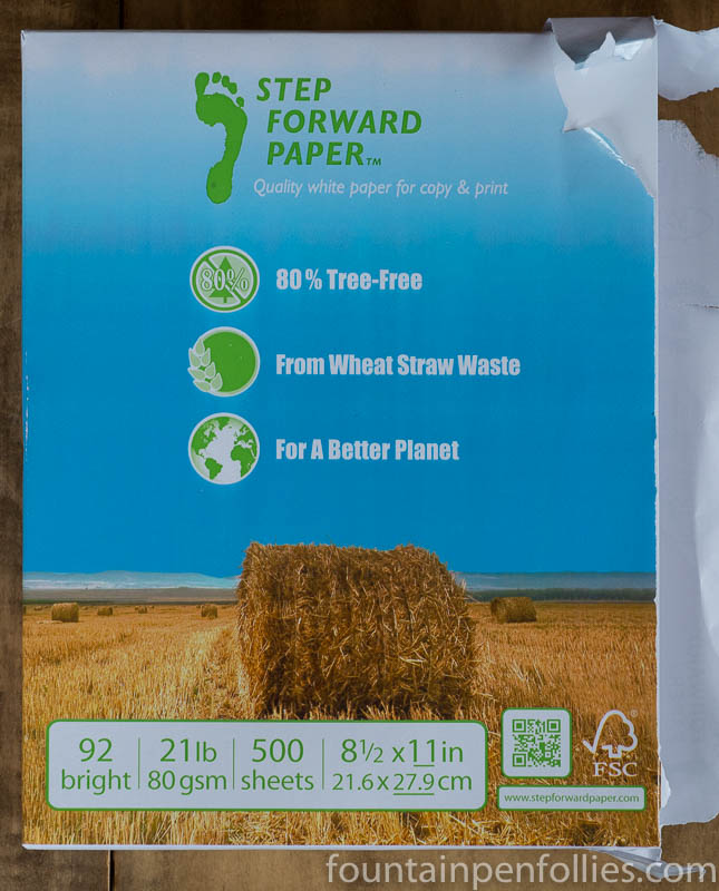 Step Forward Wheat Straw paper