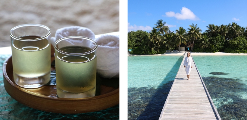 Fashion blogger Spa Review Conrad Rangali island Maldives