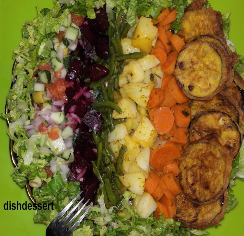 assortiment de salade