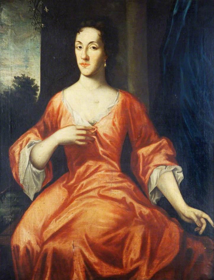 Portrait of an unknown woman. University of Aberdeen